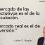 Frase de John C. Bogle sobre inversión y especulación